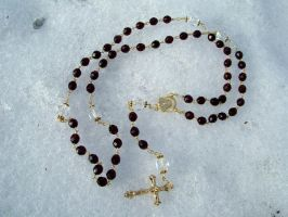 garnet and gold rosary part 3 by teddy529