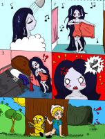 A joke to Marceline by MarcelineSexyVampire