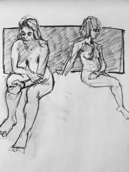 Figure Drawing at the Neologian - Feb 17th by theturbosaur