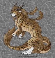 Leopard Dragon-NeonDragon by KuchingOfHades