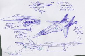 'Yantar' tactical fighter by InkOut