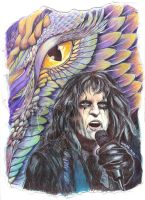 Alice Cooper :: Dragontown by dragonladych