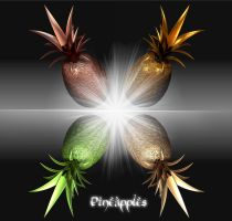 The Four Pineapples XD by Xanatos4