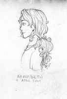 Annabeth Chase by LimeVines
