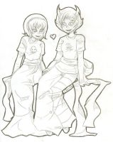 Rose + Kanaya by DemonicLollipop