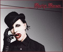 marilyn manson by WikkiEE