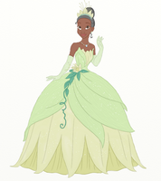 Princess Tiana by ifroggirl