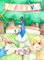 [Otaku Story] Alice in Randomland Portada 4 by irenereru