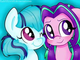 Sonata And Aria Blaze LOVE by TryPlexia
