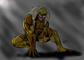 Sabretooth by Will-Lewis