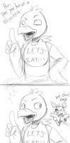 Chica's advise...or not by rons13