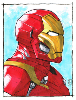 Iron Man by Hodges-Art