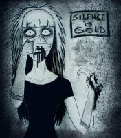 Silence is Gold by brain-err0r