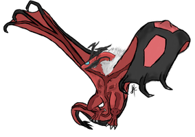 Realistic Yveltal by Arkluden