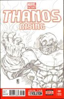War Thanos Sketchcover by warpath28