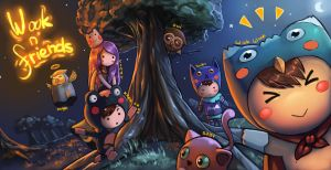 Wook n Friends by es-jeruk