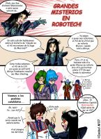 Misterios en Robotech-Comic 1 by Ameban