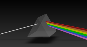 Dark Side of the Moon - Solid Model by RelativelyExtreme