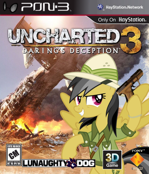Uncharted 3: Daring's Deception by nickyv917