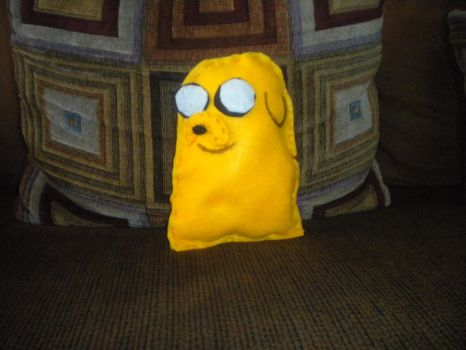 Jake the dog pillow by Fanboychum123410