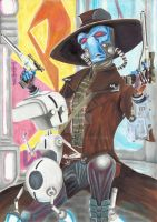 Cad Bane and Todo by TolZsolt