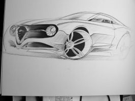 Alfa Romeo Coupe by dyrborgdesign