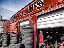 Gerald's Tire and Brakes by troglow