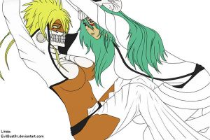 Neliel and Harribel Espada by EvilBust3r