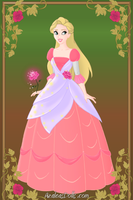 Lina disney princess ballgown by winxgh