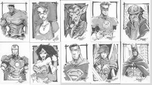 More Random Sketchcards by rantz
