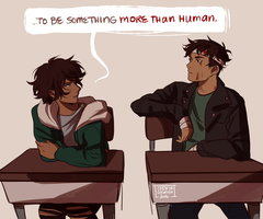 more than human by cookiecreation