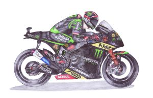 Ballpoint Pen, Andrea Dovizioso, 4 by onecuriouschip