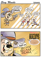 Sugar Bullets by sayunclecomics