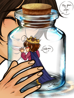Lovino in a bottle meme 3 by x-Lilou-chan-x
