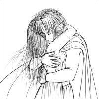 Zelink Embrace - Sketch by xx--ingie--xx