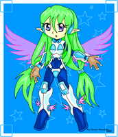 SCIFI ARTEMIS COLOURED by Chibi-Tanny
