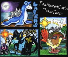 Feathered-cat's PokeTeam by lemurkat