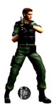Chris Redfield - Render by WesleySouji