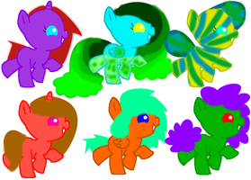 More mystery pony adopts! *OPEN* by Honey-PawStep