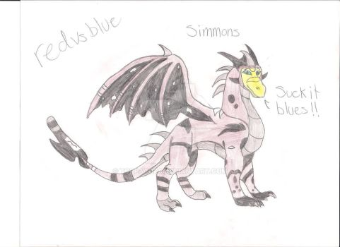Simmons 001 by caboosedragon