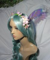 Fairy of Spring - Headgear with Fairywings by Ganjamira