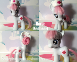 Nurse Redheart the Third - Custom Pony by saucycustoms