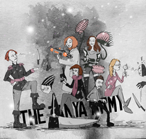 The Tanya Army 2015 by RumourTheNoir