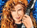 -Heroes- Dave Mustaine by sirkrozz