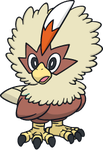 Shiny Rufflet Global Link Art by TrainerParshen