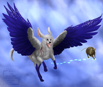 Paws in the Sky by PaintedCricket