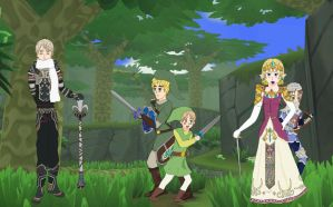 Hetalia: Legend of Zelda by 6thninja