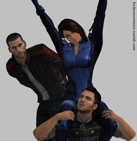 Kaidan responds by Forever-in-a-Day