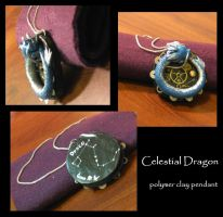 Celestial Dragon details by Animus-Panthera
