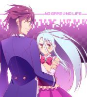 No Game No Life by riiko23